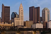 Skyline For Attorney Ron Wittel Columbus Ohio Place of Business